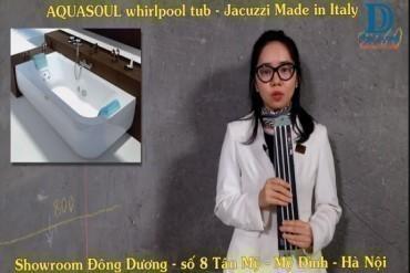 Hướng dẫn kỹ thuật bồn tắm Aquasoul/ Jacuzzi