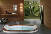 Bồn tắm Jacuzzi Wood Stone